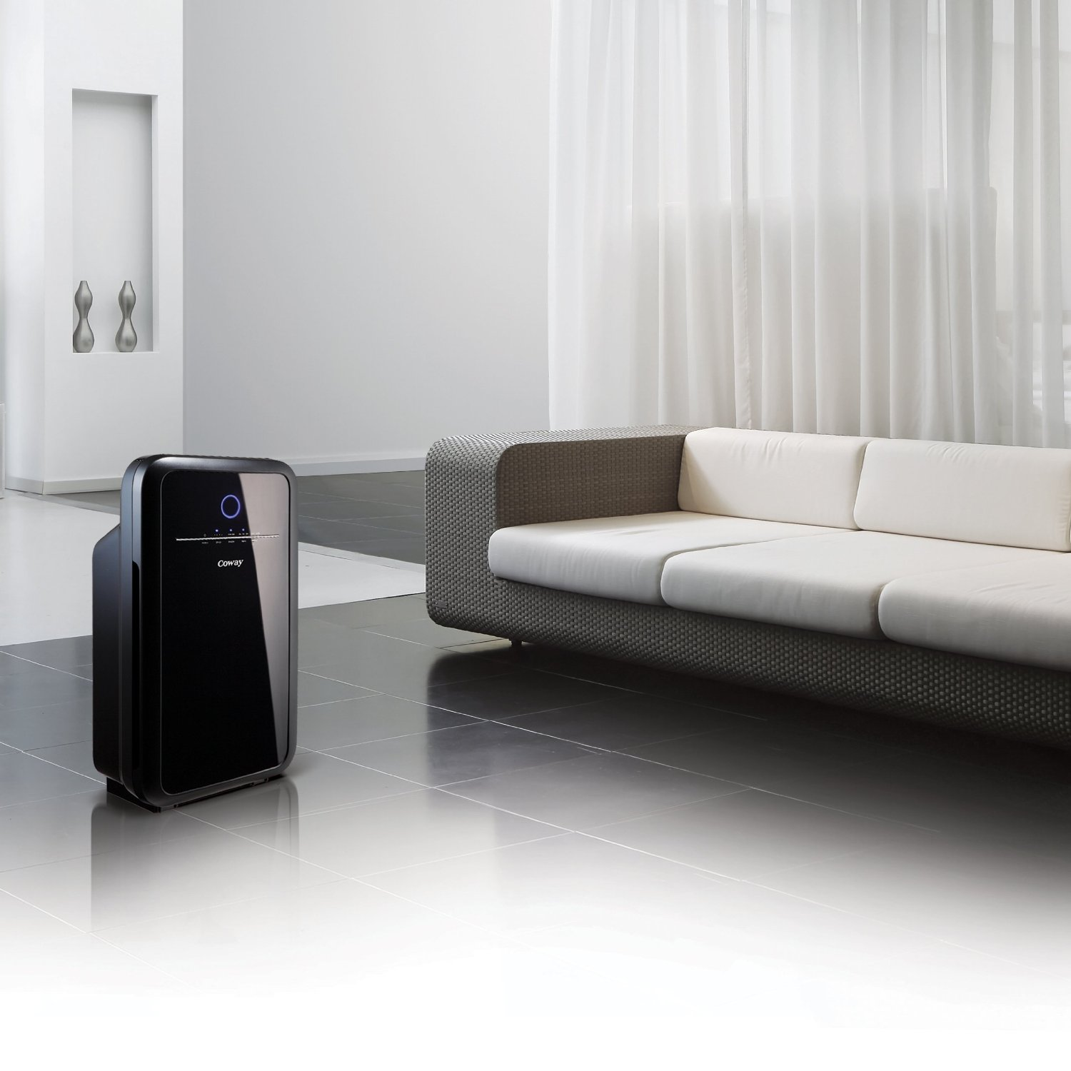 coway ap1012gh smart air purifier with hepa filter1