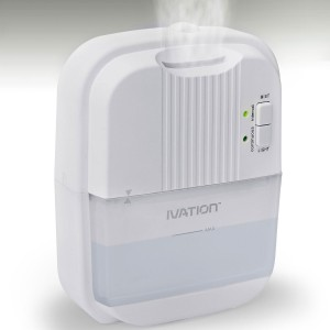 Ivation Small Ultrasonic Cool Mist Humidifier