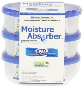 Household Essentials 99573 Moisture Absorber Tub, Unscented, 4.5 Ounce