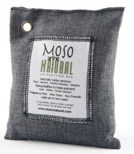 Moso Natural Air Purifying Bag 200g Charcoal Color