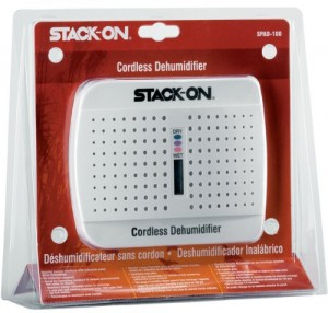 Stack On SPAD 100 Wireless Rechargeable Dehumidifier