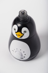 Bell+Howell Ultrasonic Penguin Design Personal Portable Humidifier for Kids and Babies