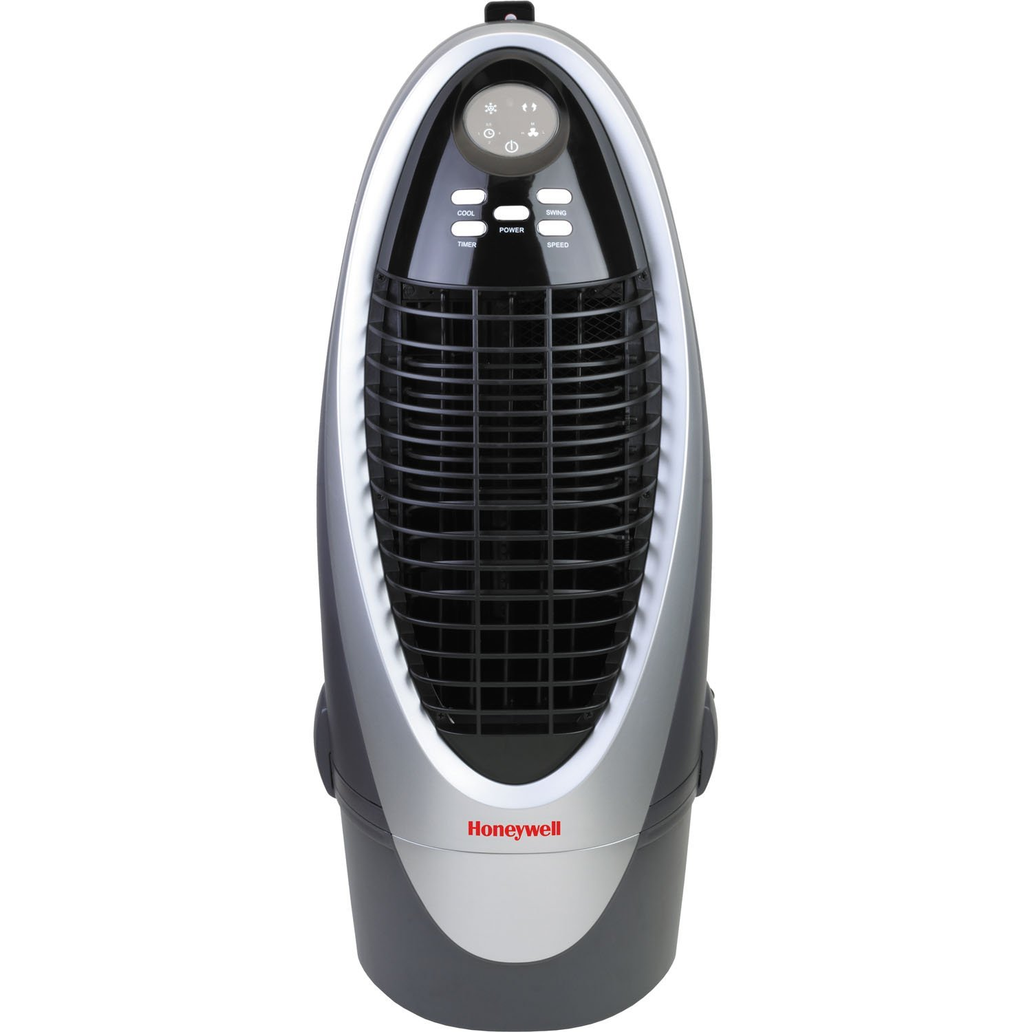 Honeywell CS10XE 21 Pt. Indoor Portable Evaporative Air Cooler with Remote Control, Silver_Grey