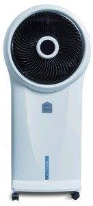 Living Basix LB400 Portable Evaporative Air Cooler with Remote Control
