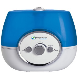 PureGuardian H1510 100-Hour Warm or Cool Mist Ultrasonic Humidifier